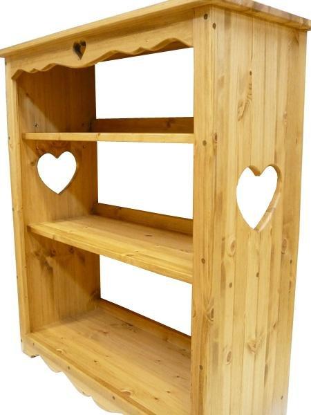画像1: カントリー家具 ブックシェルフ (1)