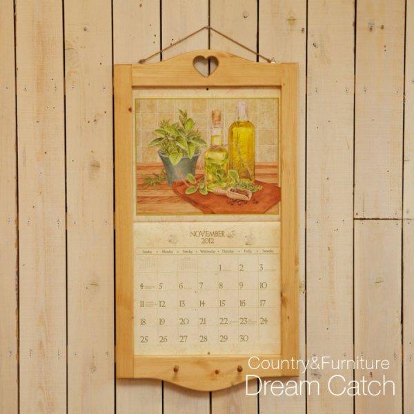 画像1: カントリー家具 カレンダーフレーム (1)