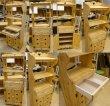 画像3: カントリー家具 オープンキャビネット(スライドレール・引き出し付) (3)