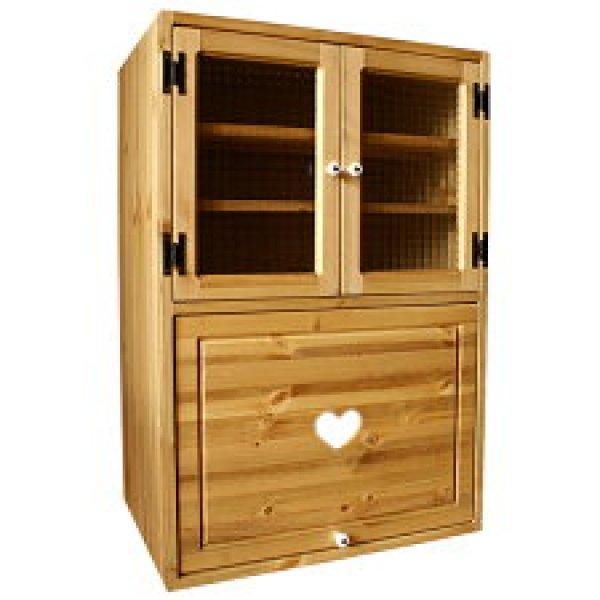画像1: カントリー家具 マルチキッチンキューブC (1)