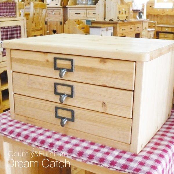 画像1: カントリー家具 レターケースBOX (1)