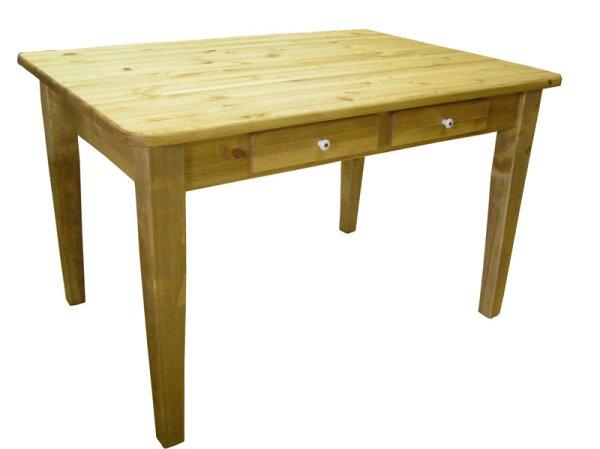 画像1: カントリー家具 ダイニングテーブルW1500(引き出し付き) (1)